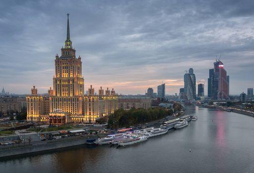 Photo free Moscow, Most, Hotel Ukraine