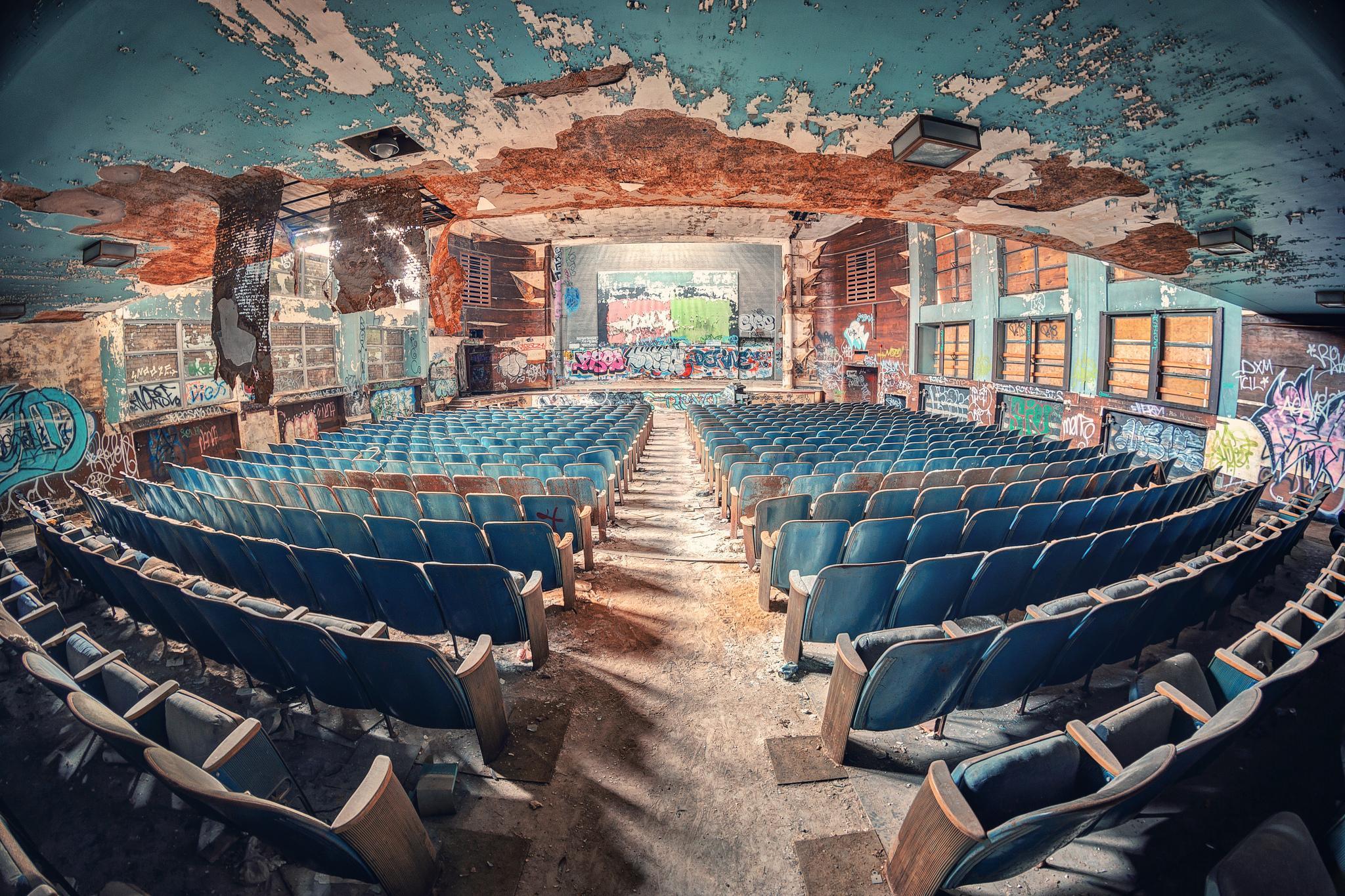 обои Auditorium, Актовый зал, архитектура картинки фото