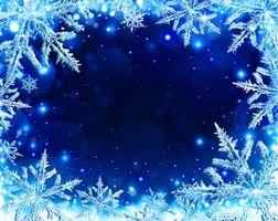 Фото бесплатно фон, снежинки, Рождество