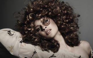 Фото бесплатно стиль, лицо, волосы, девушка, прическа, кудри, красивая