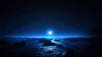 Фото бесплатно марс, закат, солнце