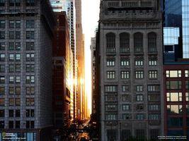 Фото бесплатно небоскреб, солнце, дорога, машины, national geographic, здание, дом, город