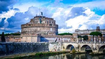 Фото бесплатно дома, замок, мост