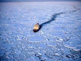 Фото бесплатно море, лед, холодно