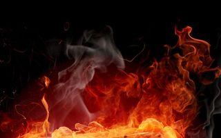 Photo free fire, flame, bonfire