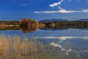 Бесплатные фото oster lakes,bavaria,germany,бавария,германия,озеро,осень