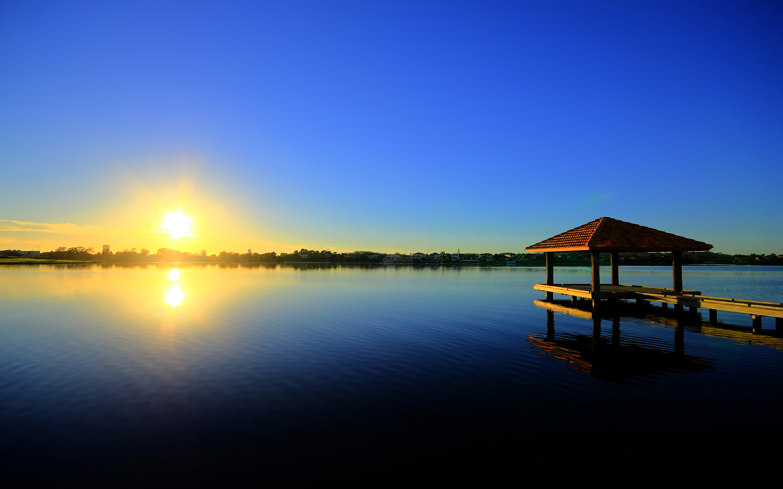 рассвет озеро причал  № 2738606 без смс
