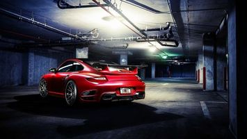 Photo free porsche, car, wheels