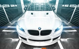 Photo free bmw, white, lights