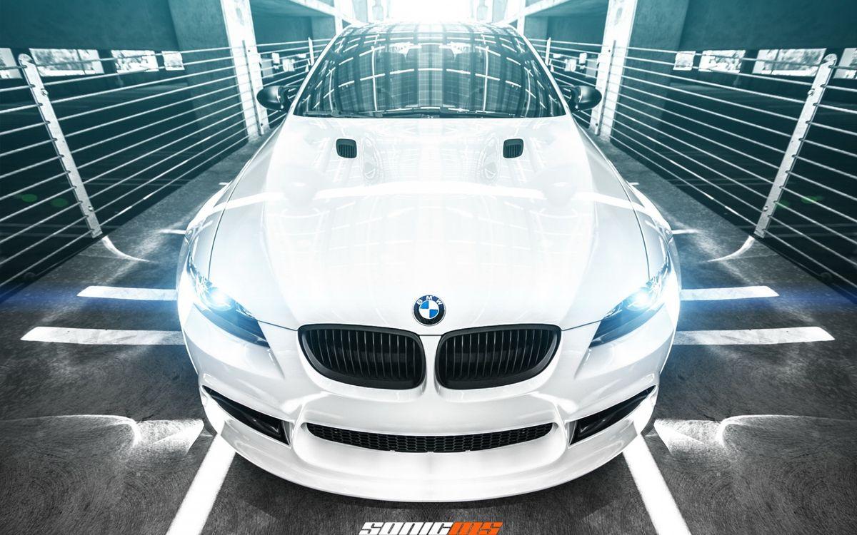 Фото бесплатно БМВ, белый, автомобили - на рабочий стол