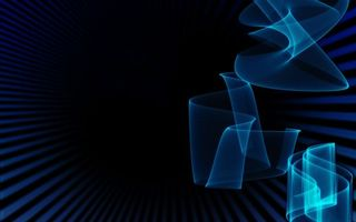 Бесплатные фото фон,синий,полоски,линии,свет,графика,обои