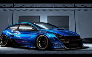 Фото бесплатно ford, mustang, синий, машины