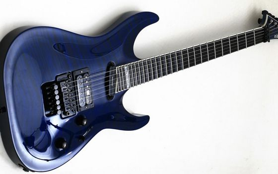 Photo free guitar, blue, electro