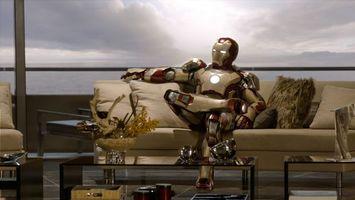 Фото бесплатно железный, человек, диван