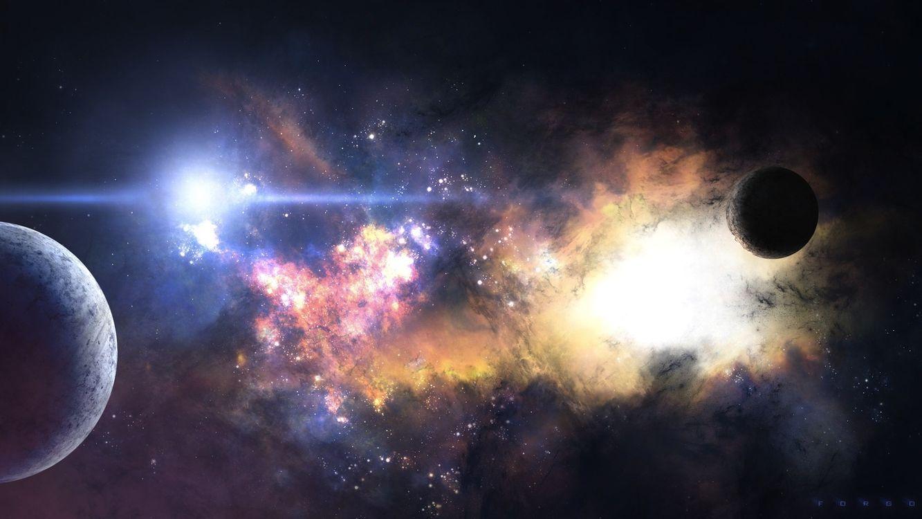 Фото бесплатно планеты, космос, галактика - на рабочий стол