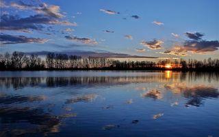 Фото бесплатно вода, солнце, небо