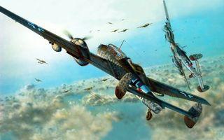Фото бесплатно самолеты, война, учения
