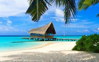 Фото бесплатно пейзажи, пляж, тропики