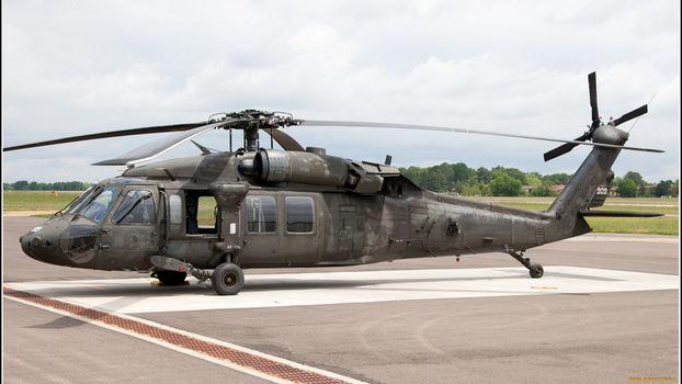 Фото бесплатно вертолет, военный, серый