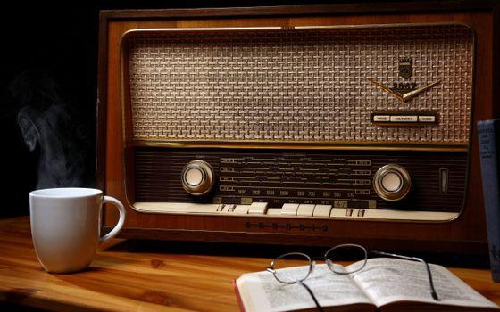 Заставки чашка, кружка, радио