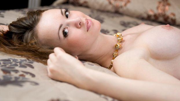 Фото бесплатно девушка, лицо, волосы