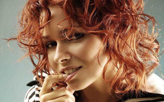 Фото бесплатно девушка, рыжая, красотка