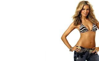 Фото бесплатно джинсы, красивая, блондинка