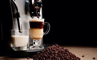 Бесплатные фото кофе,кофеварка,молоко,стол,зерна,напитки