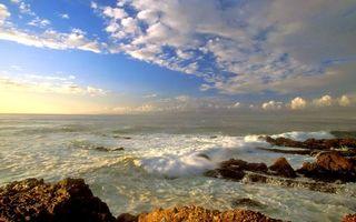 Заставки волны, море, пейзажи