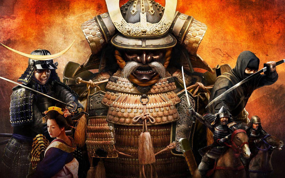 Фото бесплатно самураи, япония, война - на рабочий стол