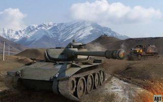 Photo free t71, usa, light tank