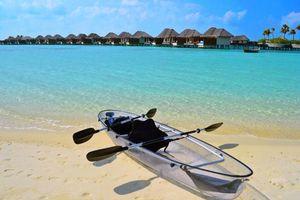 Фото бесплатно пляж, бунгало, разное
