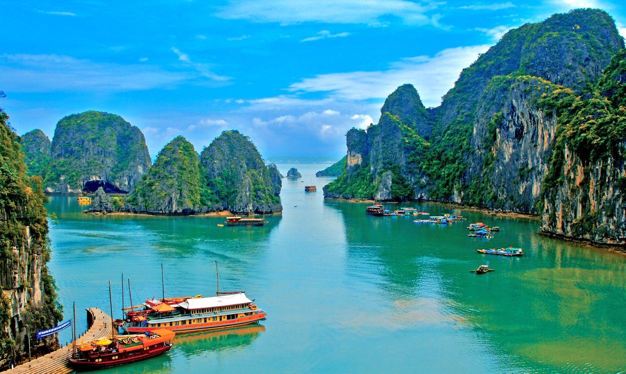 Фото бесплатно Вьетнам, море, пейзажи - на рабочий стол