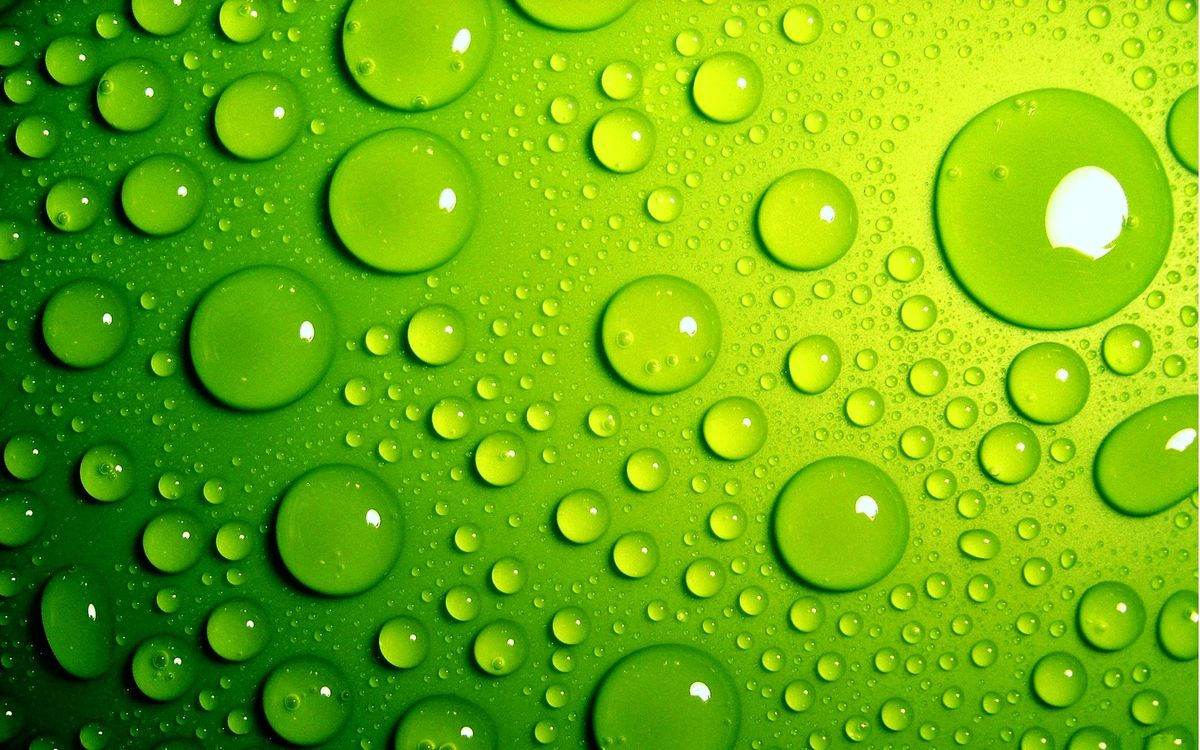 Free photo water, drops, spray, surface, green, smooth, texture - to desktop