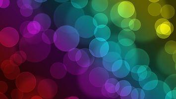 Бесплатные фото абстракция, круги, abstraction, circles, боке, краски, узоры