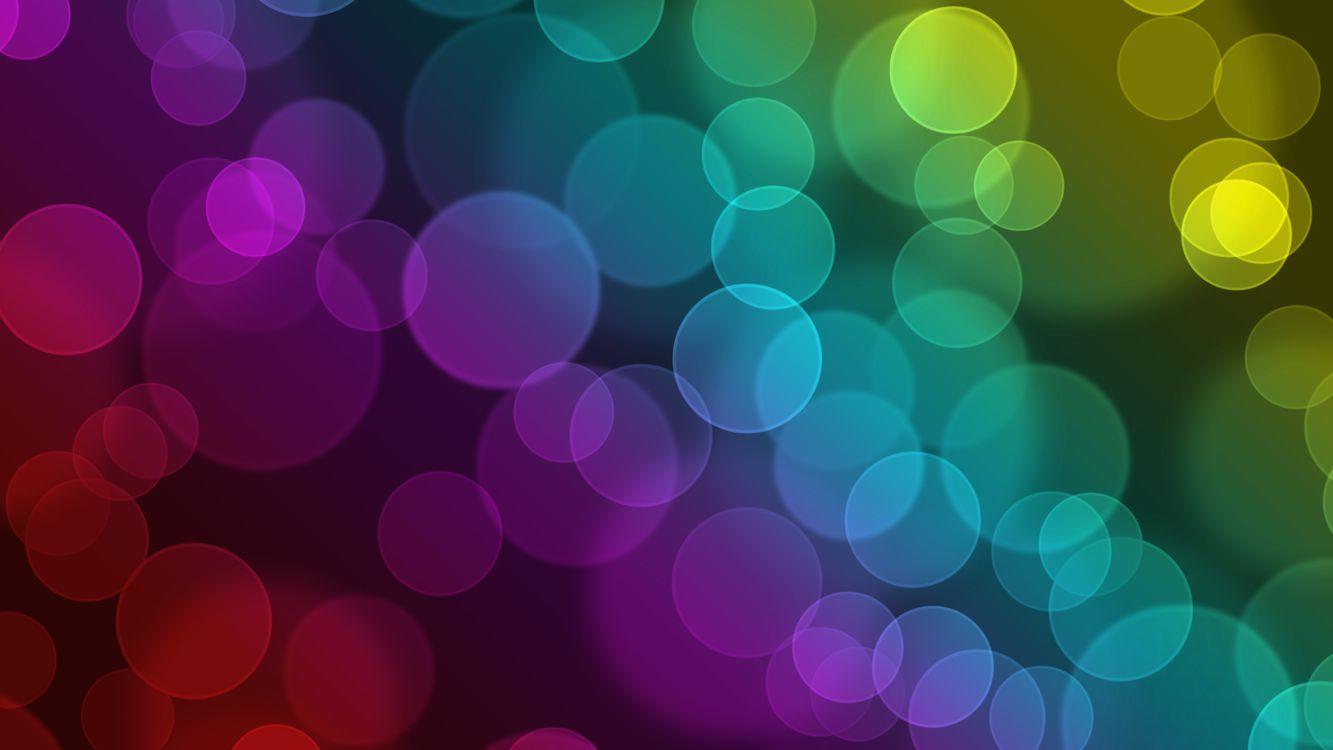 Фото бесплатно абстракция, круги, abstraction, circles, боке, краски, узоры, разное