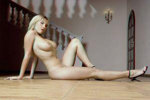 Фото бесплатно chikita, 3d, блондинка