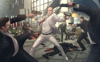 Бесплатные фото хитмен,бойня,оружие,смерть,киллер,человек,игры