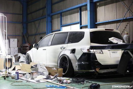 Photo free Honda, odyssey, garage
