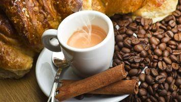 Бесплатные фото кофе,чашка,пар,зерна,стол,ложка,еда