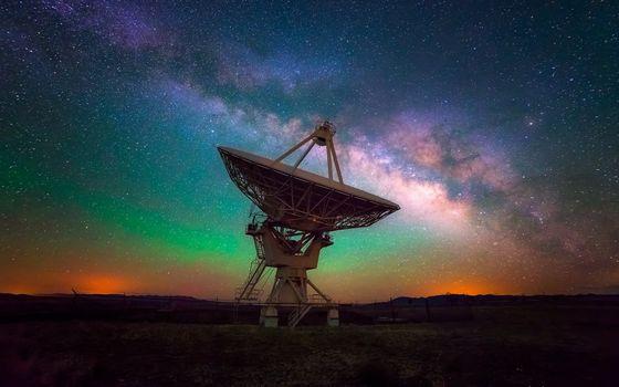 Photo free space, antenna, sky