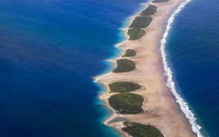 Бесплатные фото остров,берег,линия,пляж,песок,кусты,деревья