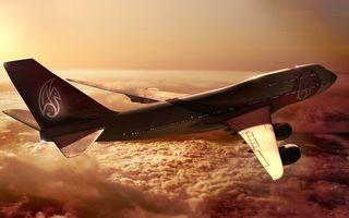 Фото бесплатно облака, полет, пассажир