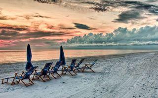 Фото бесплатно песок, берег, море