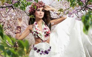 Фото бесплатно платье, браслет, венок