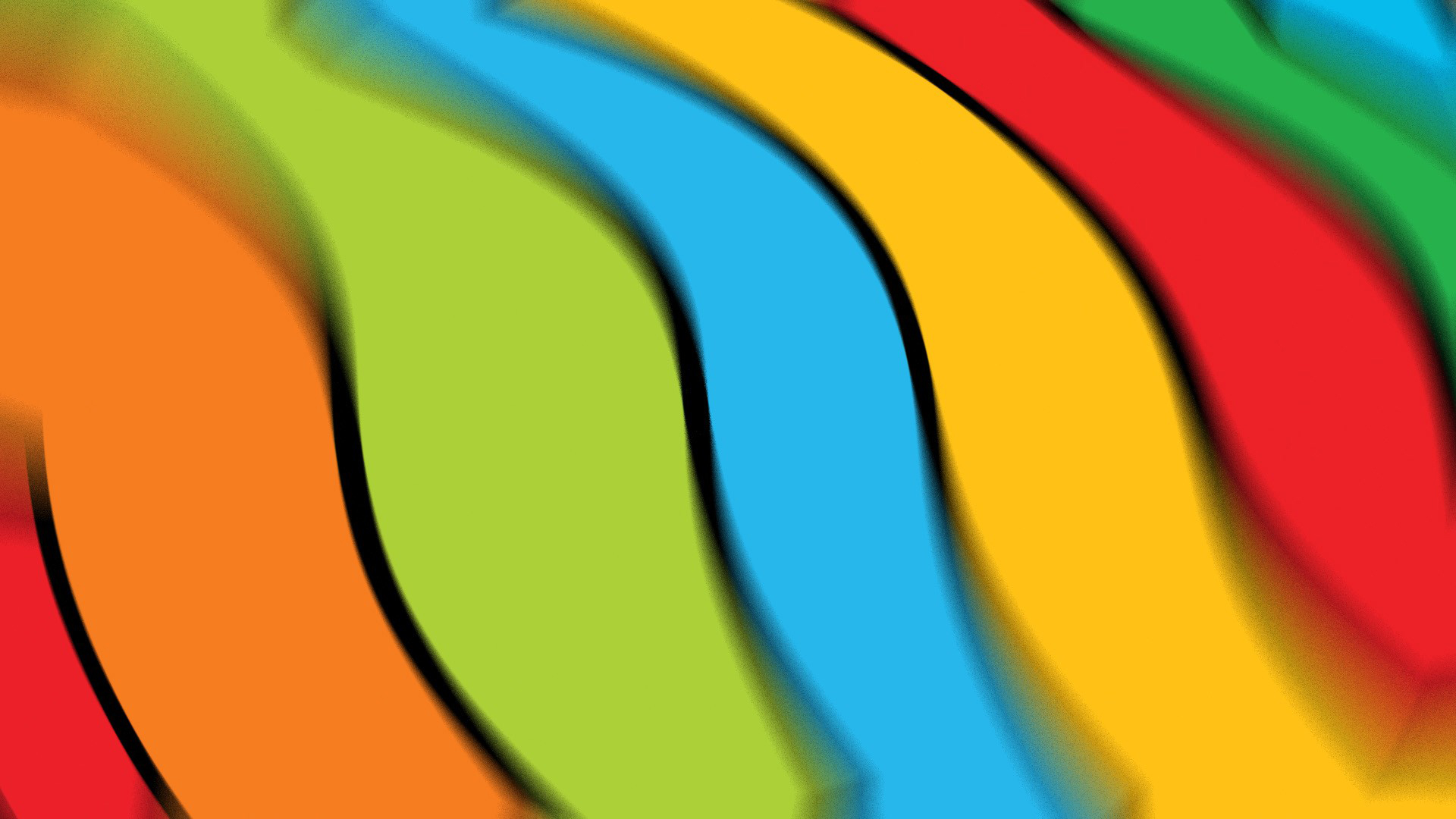 картинка яркие линии