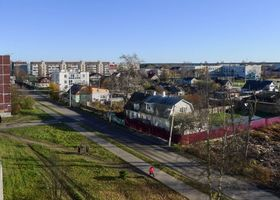 Фото бесплатно Приозерск, осень, дома
