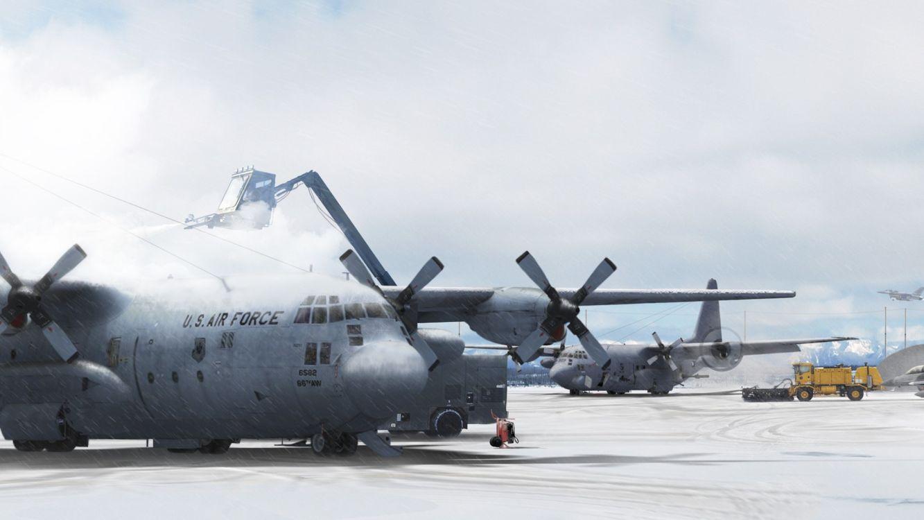Lockheed C-130 Hercules · бесплатное фото
