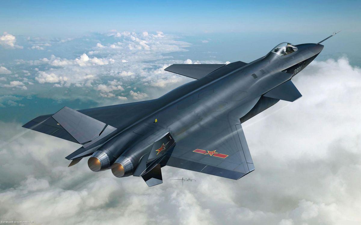Фото бесплатно самолет, истребитель, небо - на рабочий стол
