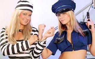 Фото бесплатно заключенная, полиция, наручники